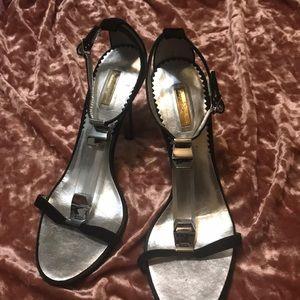 Report signature sandal heels